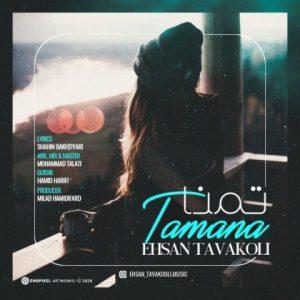 دانلود آهنگ جدید احسان توکلی به نام تمنا