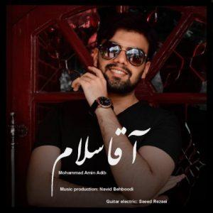 دانلود آهنگ جدید محمد امین ادیب به نام آقا سلام