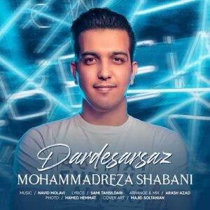 دانلود آهنگ جدید محمدرضا شعبانی به نام دردسرساز